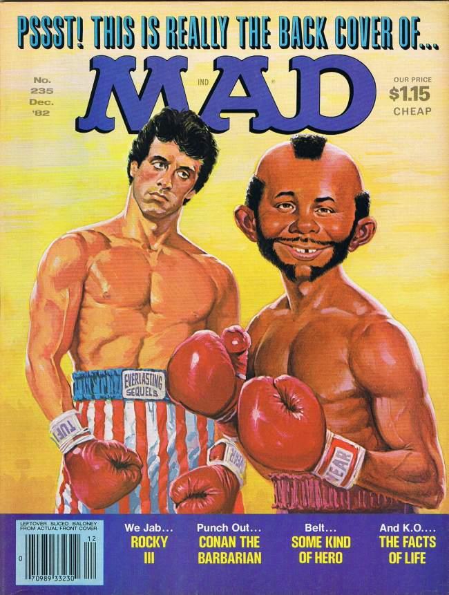 MAD Magazine #235 • USA • 1st Edition - New York