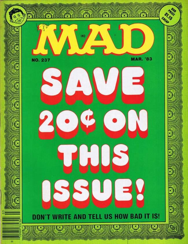 MAD Magazine #237 • USA • 1st Edition - New York