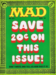 Go to MAD Magazine #237 • USA • 1st Edition - New York
