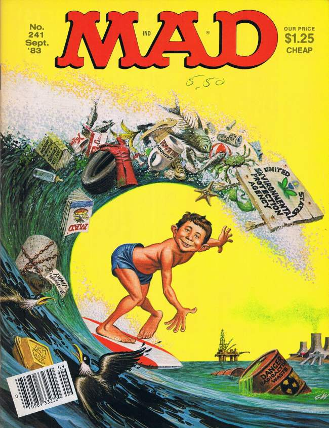MAD Magazine #241 • USA • 1st Edition - New York