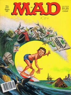 Go to MAD Magazine #241 • USA • 1st Edition - New York