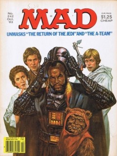 MAD Magazine #242 • USA • 1st Edition - New York