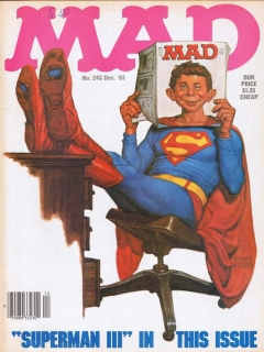 MAD Magazine #243 • USA • 1st Edition - New York