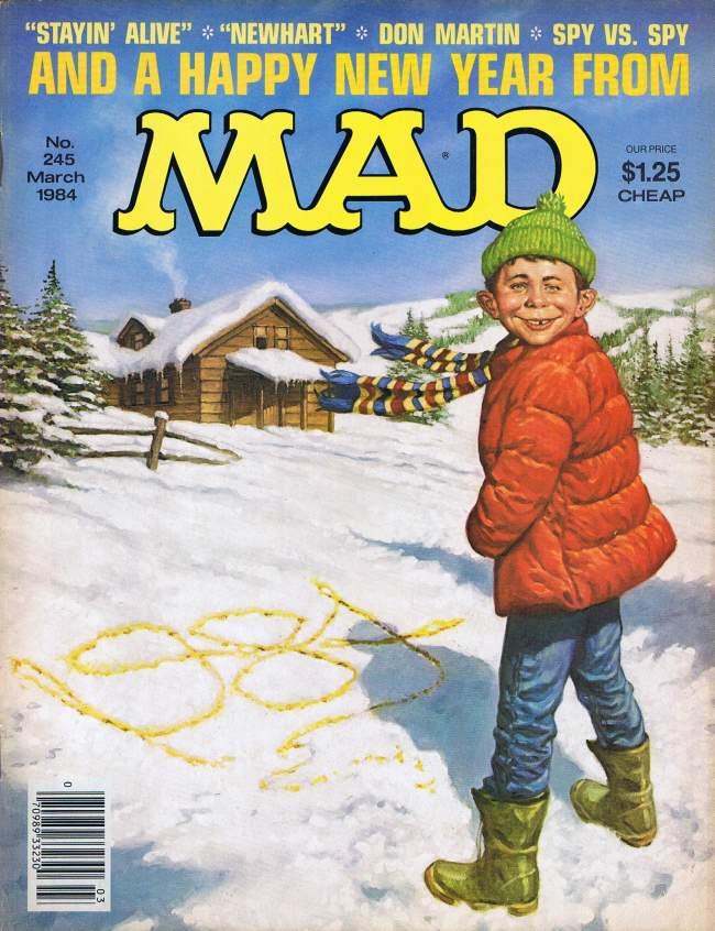 MAD Magazine #245 • USA • 1st Edition - New York