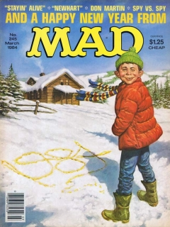 Go to MAD Magazine #245 • USA • 1st Edition - New York