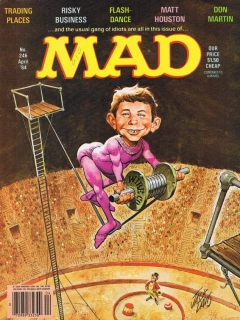 Go to MAD Magazine #246 • USA • 1st Edition - New York