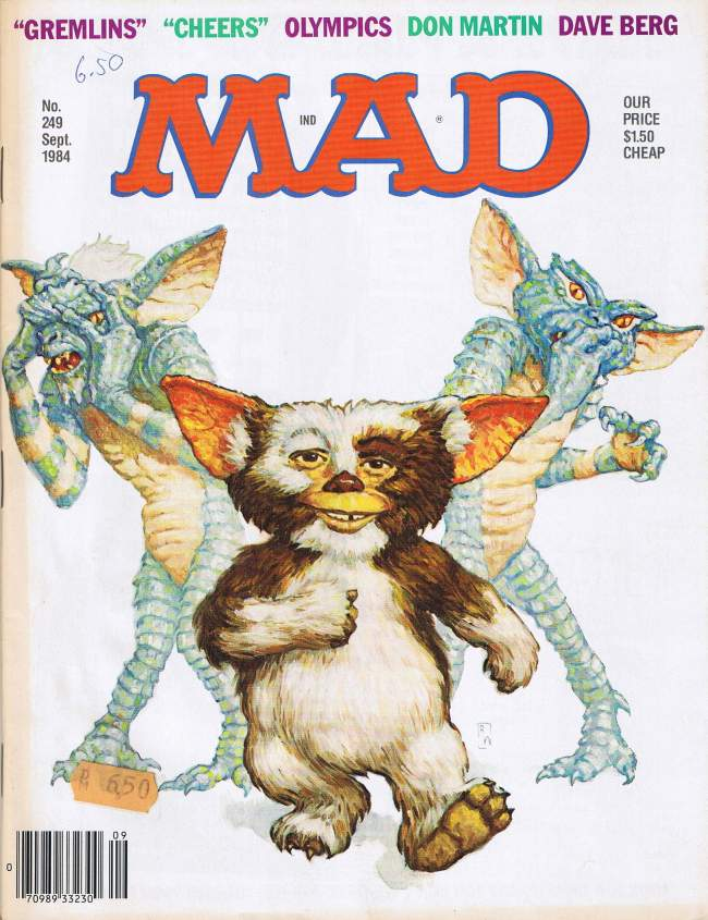MAD Magazine #249 • USA • 1st Edition - New York