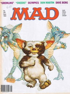 Go to MAD Magazine #249 • USA • 1st Edition - New York