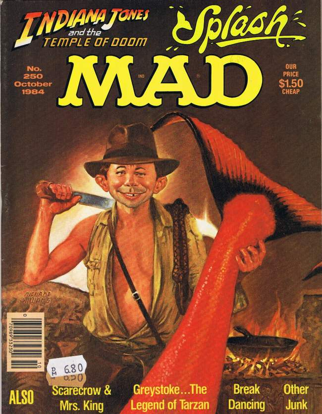 MAD Magazine #250 • USA • 1st Edition - New York