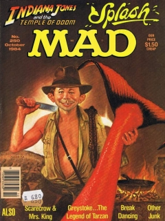 Go to MAD Magazine #250 • USA • 1st Edition - New York