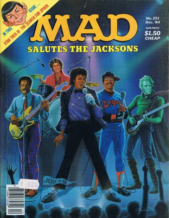 MAD Magazine #251 • USA • 1st Edition - New York