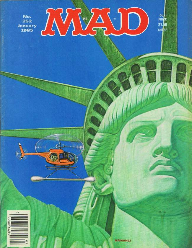 MAD Magazine #252 • USA • 1st Edition - New York