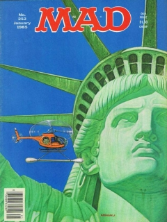Go to MAD Magazine #252 • USA • 1st Edition - New York