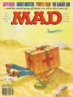 Go to MAD Magazine #253 • USA • 1st Edition - New York