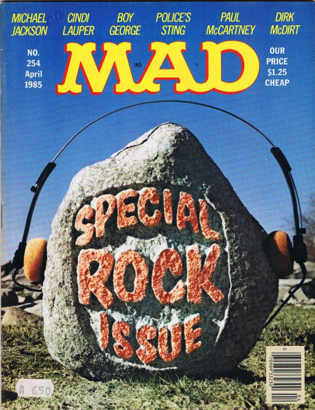 MAD Magazine #254 • USA • 1st Edition - New York