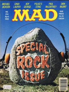 Go to MAD Magazine #254 • USA • 1st Edition - New York