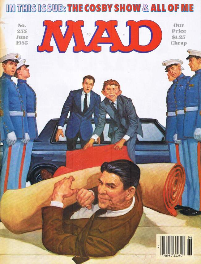MAD Magazine #255 • USA • 1st Edition - New York