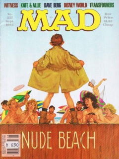 Go to MAD Magazine #257 • USA • 1st Edition - New York
