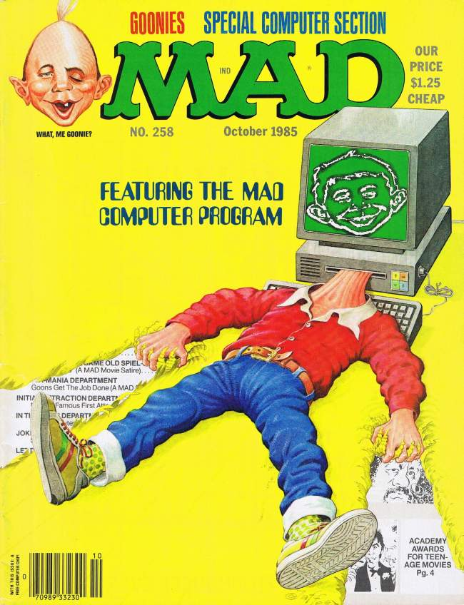 MAD Magazine #258 • USA • 1st Edition - New York
