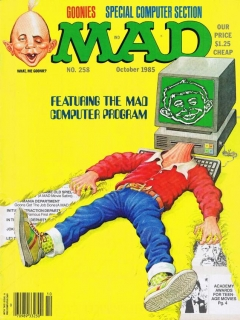 Go to MAD Magazine #258