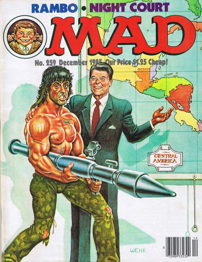 MAD Magazine #259 • USA • 1st Edition - New York