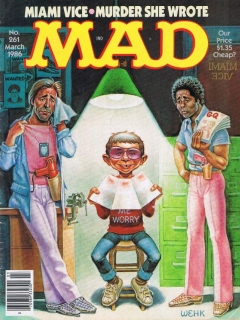 Go to MAD Magazine #261 • USA • 1st Edition - New York