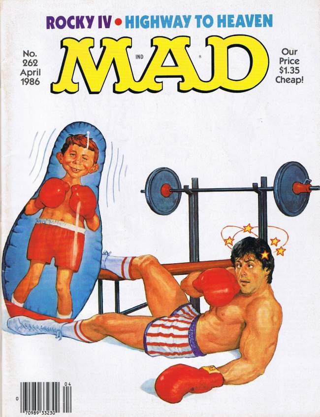 MAD Magazine #262 • USA • 1st Edition - New York