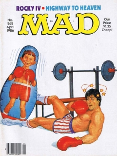 Go to MAD Magazine #262 • USA • 1st Edition - New York