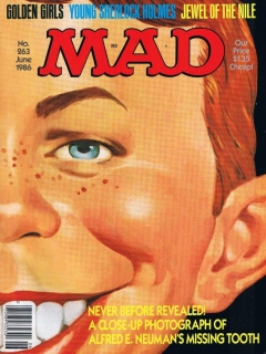 Go to MAD Magazine #263 • USA • 1st Edition - New York