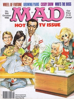 Go to MAD Magazine #266 • USA • 1st Edition - New York
