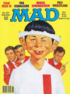 Go to MAD Magazine #271 • USA • 1st Edition - New York