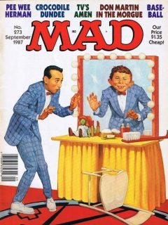 Go to MAD Magazine #273 • USA • 1st Edition - New York