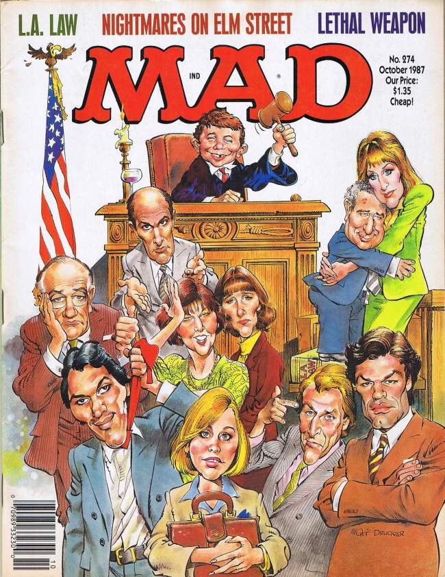 MAD Magazine #274 • USA • 1st Edition - New York