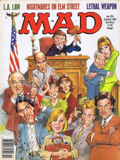Go to MAD Magazine #274 • USA • 1st Edition - New York