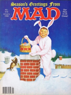 MAD Magazine #276 • USA • 1st Edition - New York
