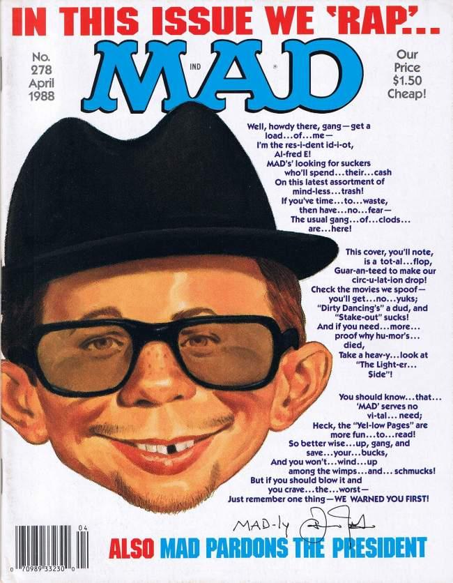 MAD Magazine #278 • USA • 1st Edition - New York