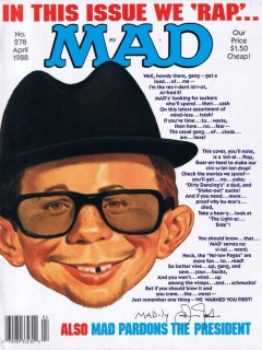 Go to MAD Magazine #278 • USA • 1st Edition - New York