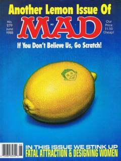 MAD Magazine #279 • USA • 1st Edition - New York