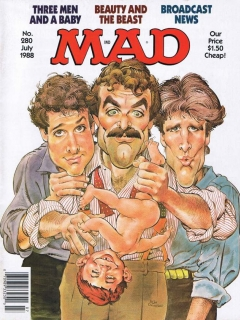Go to MAD Magazine #280 • USA • 1st Edition - New York