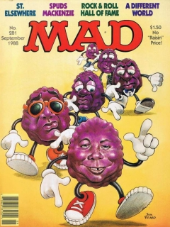 Go to MAD Magazine #281 • USA • 1st Edition - New York