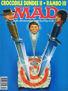 Go to MAD Magazine #283 • USA • 1st Edition - New York