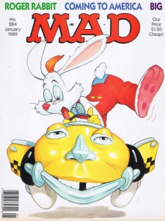 Go to MAD Magazine #284 • USA • 1st Edition - New York