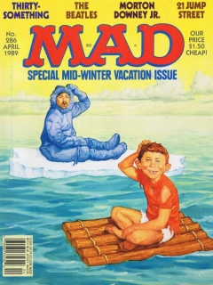 Go to MAD Magazine #286 • USA • 1st Edition - New York