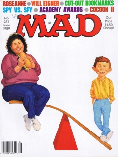 Go to MAD Magazine #287 • USA • 1st Edition - New York