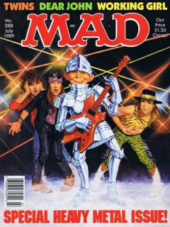 Go to MAD Magazine #288 • USA • 1st Edition - New York