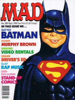 Go to MAD Magazine #289 • USA • 1st Edition - New York