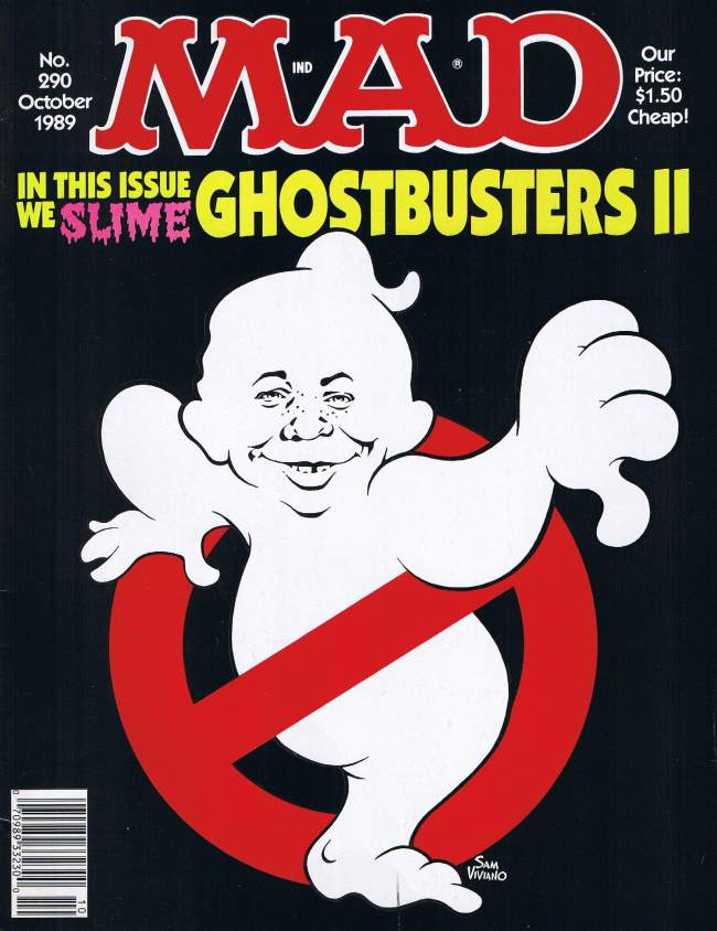 MAD Magazine #290 • USA • 1st Edition - New York