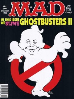Go to MAD Magazine #290 • USA • 1st Edition - New York