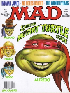 Go to MAD Magazine #291