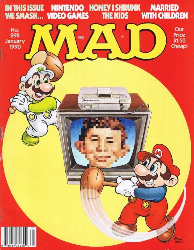 MAD Magazine #292 • USA • 1st Edition - New York